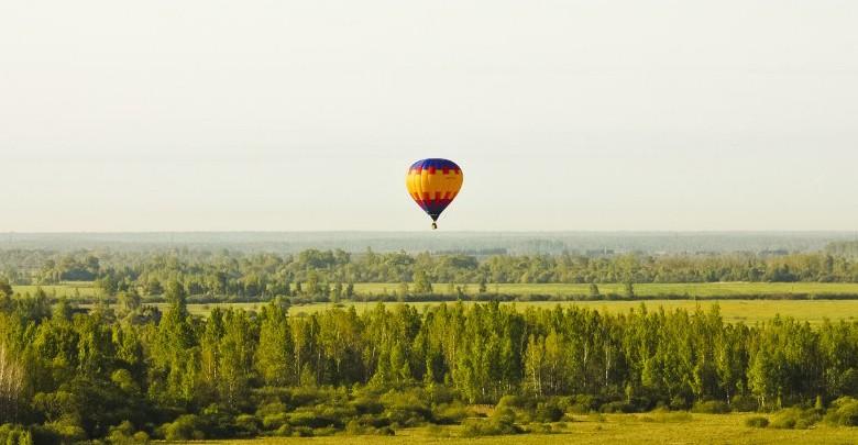 Полет на воздушном шаре в р-не Великих Лук на двоих