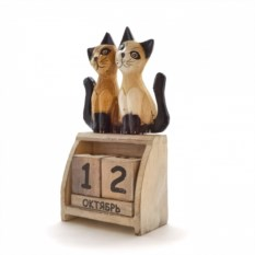 Настольный календарь Кошки