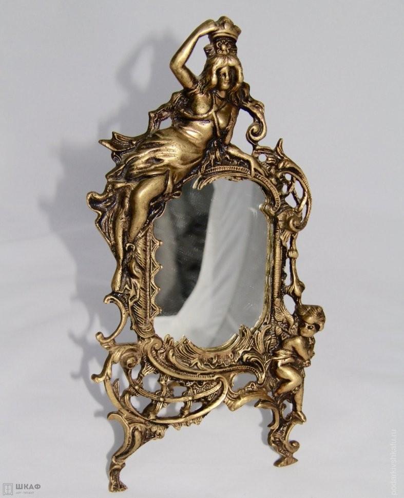 Зеркало в раме Амур и Психея