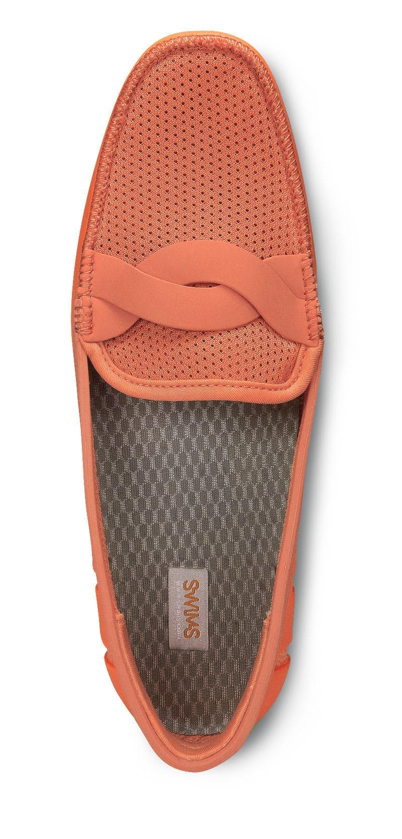 Мокасины Swims Braid Front, коралловые