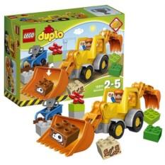 Конструктор Lego Duplo Экскаватор-погрузчик
