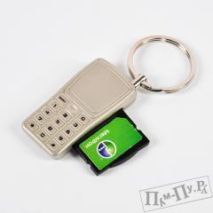 Брелок с держателем для SIM-карты