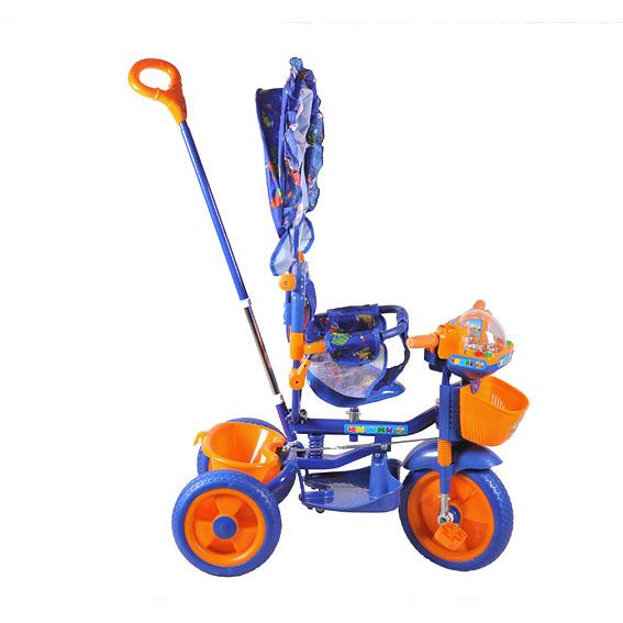 Детский трехколесный велосипед «Чижик - роботы»