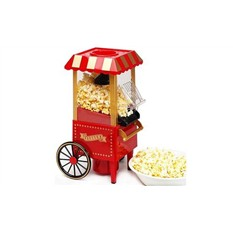 Аппарат для изготовления попкорна Ретро тележка