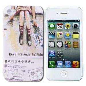 Чехол для iPhone 4/4S Painted Legs