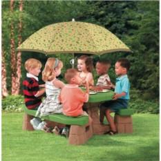 Столик с зонтом Пикник (Step2)