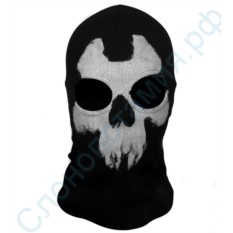 Маска-балаклава с черепом Ghost 7
