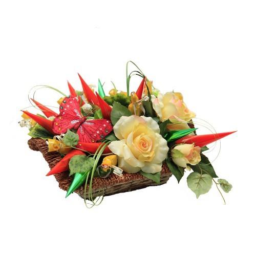 Корпоративный букет Цветочный бал