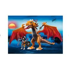 Конструктор Плеймобил Огненный дракон