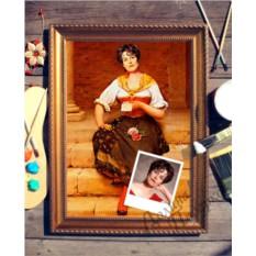 Портрет по фото Письмо