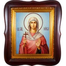 Ника Коринфская  Святая мученица. Икона на холсте.