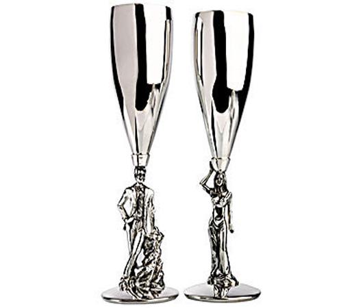 Набор бокалов «Пара — мужчина и женщина»