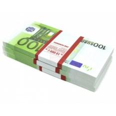 Прикольный сувенир Пачка денег Евро