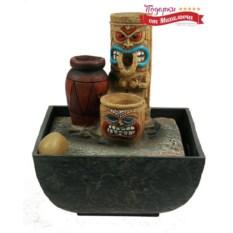 Декоративный фонтан с подсветкой Абориген