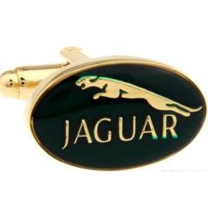 Запонки Jaguar в именной коробке с гравировкой