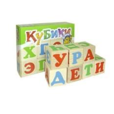 Деревянная игрушка Кубики. Алфавит
