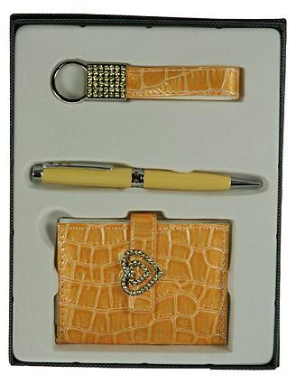 Подарочный набор, желтый