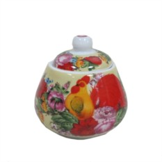 Сахарница Петух в цветах
