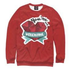 Мужской свитшот You're my Valentine