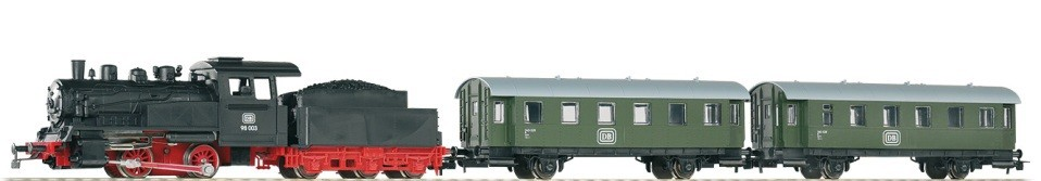 Железная дорога PIKO 57110 Пассажирский паровоз с тендером