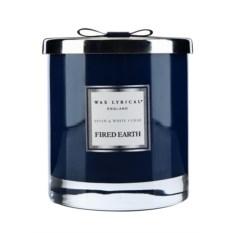 Большая ароматическая свеча Ассамский чай и белый кедр