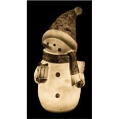 Фигурка с подсветкой Снеговик