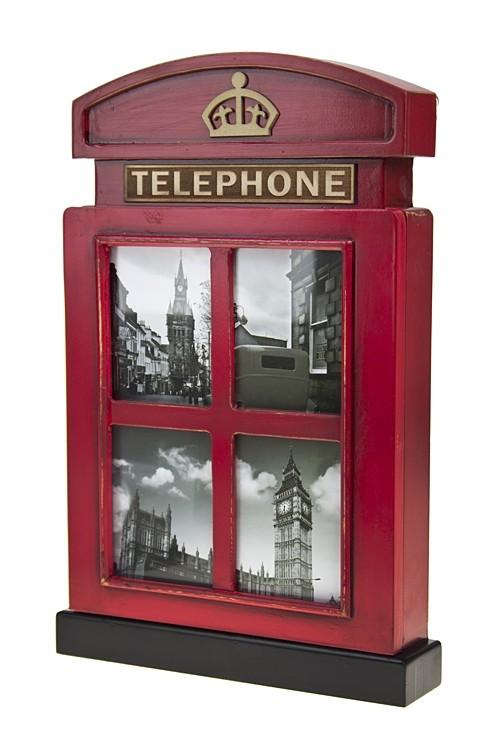 Ящик для ключей Телефонная будка