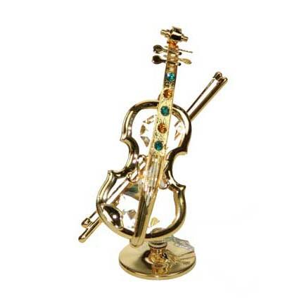Декоративная фигурка Swarovski «Скрипка»