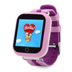 Розовые детские часы с GPS Smart Baby Watch GW200S