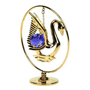 Фигурка декоративная  «Лебедь на подвеске»
