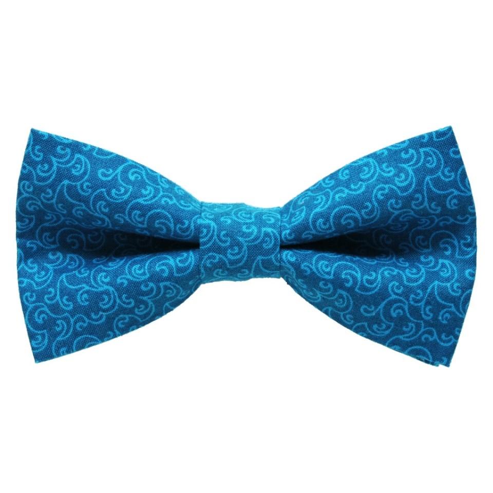 Галстук-бабочка #328 (синяя)