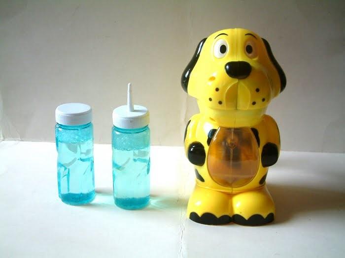 Мыльные пузыри Собачка