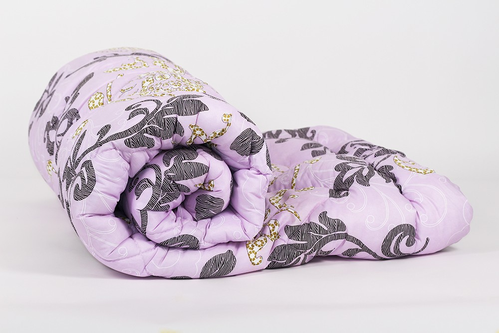 Одеяло зимнее Лебяжий пух (тик) (400 гр)