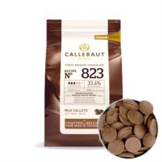 Молочный бельгийский шоколад в монетах Callebaut