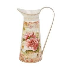 Металлическая ваза-кувшин Цветы Прованса