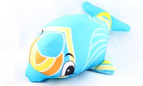 Декоративная подушка Дельфин
