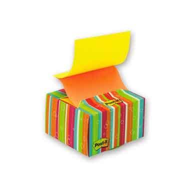 Блок-куб настольный в картонном дисплее мармелад