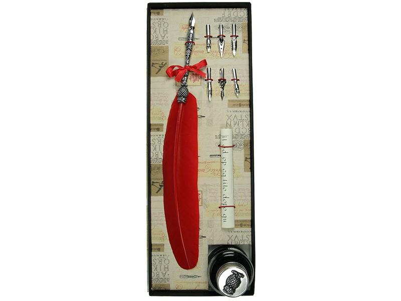 Подарочный набор для письма Красное перо