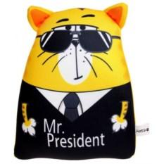 Антистрессовый кот Мистер Президент