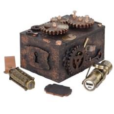 Набор Скрытые резервы из аккумулятора, флешки, шкатулки