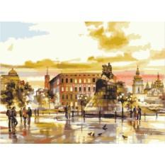 Картины по номерам «Памятник Богдану Хмельницкому»