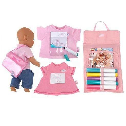 Комплект одежды и аксессуаровРисование Baby Born
