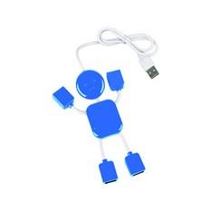 USB разветвитель на 4 порта в виде человечка