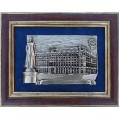 Панно с изображением здания ФСБ России