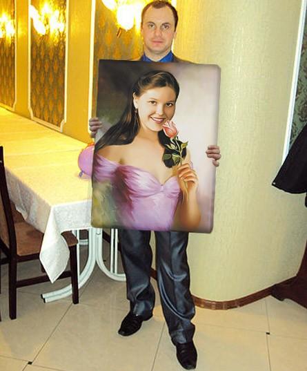 Портрет по фото (60x80 см)