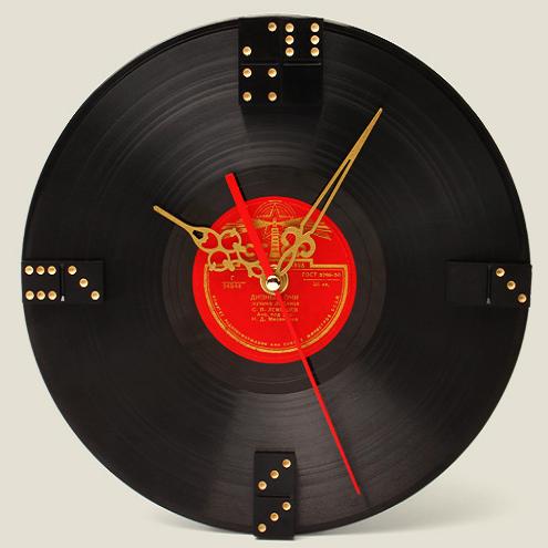 Часы «Виниловая Пластинка»
