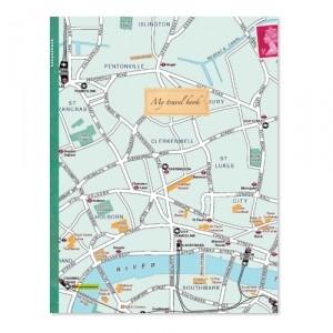 Блокнот Карта Лондона