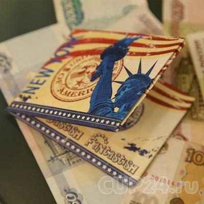 Бумажник Нью-Йорк