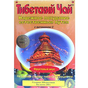 Тибетский чай Фруктовый вкус