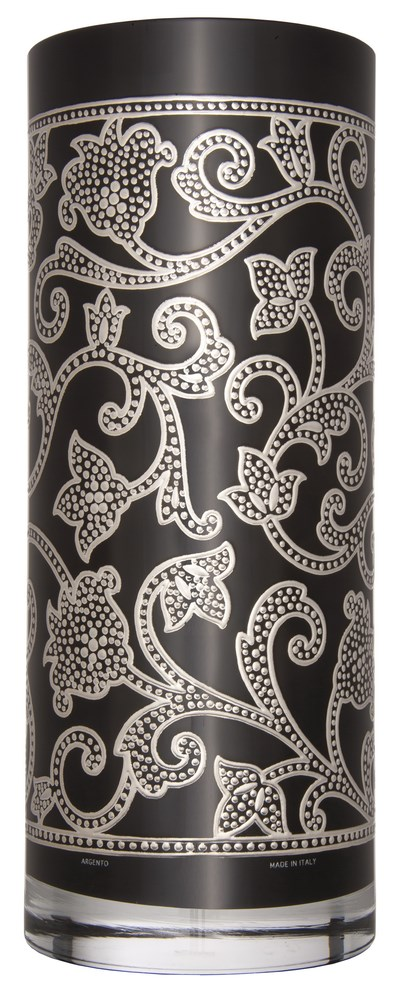 Цилиндрическая ваза Black